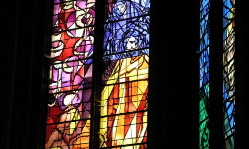 METZ ST. ETIENNE Chagall Glas In Lood