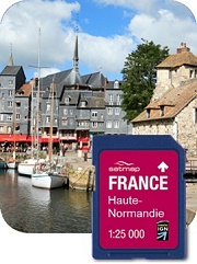 Sd kaarten satmap active 10 for Haute normandie active